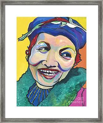 Koko Vivienne Framed Print by Pat Saunders-White