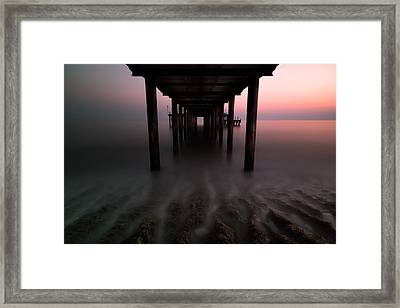 Konakli Pier Framed Print by Tor-Ivar Naess