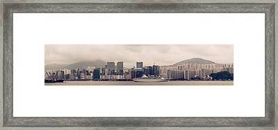 Kowloon City Framed Print by Simon Li