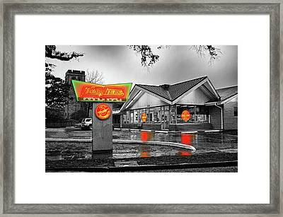 Krispy Kreme Framed Print by Michael Thomas