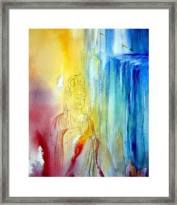 Kuan Yin Framed Print by Wendy Wiese