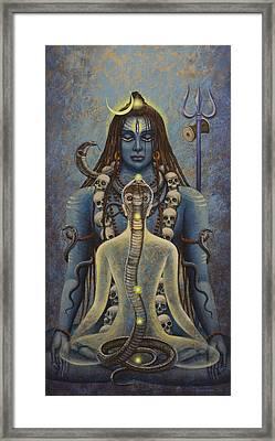 Kundalini Shakti Framed Print by Vrindavan Das