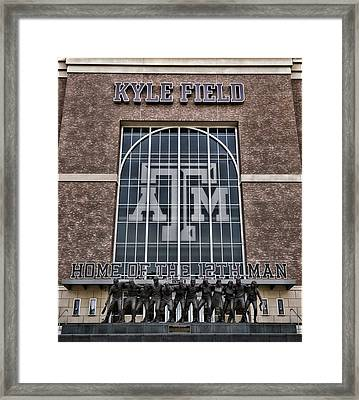 Kyle Field - Home Of The 12th Man Framed Print by Stephen Stookey