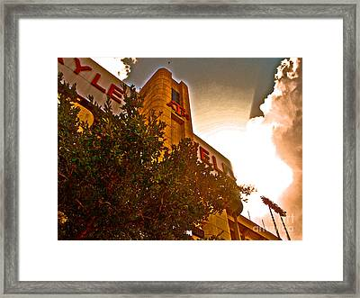 Kyle Field Sunset Aggieland Framed Print by Chuck Taylor