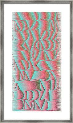 l15-D6EA00-2x4-1200x2400 Framed Print by Gareth Lewis