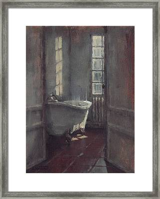 La Baignoire Sur Pieds Framed Print by Nicolas Martin