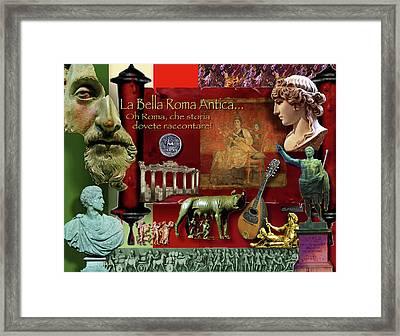 La Bella Roma Antica Framed Print by Dean Gleisberg