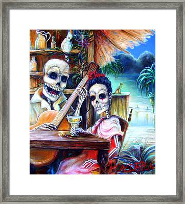 La Borracha Framed Print by Heather Calderon