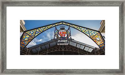 La Bouqueria Market - Barcelona Spain Framed Print by Jon Berghoff