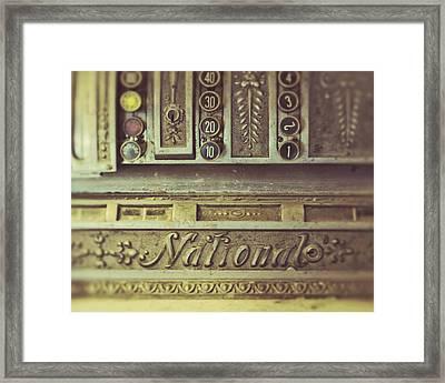 La Caisse Framed Print by Danny Van den Groenendael
