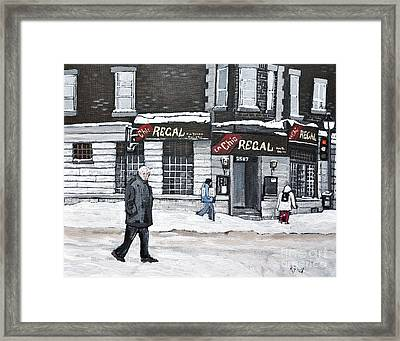 La Chic Regal Pointe St. Charles Framed Print by Reb Frost