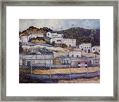 La Frontera Framed Print by Candy Mayer