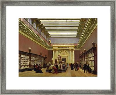 La Galerie Campana Framed Print by Charles Giraud
