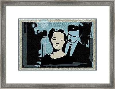 La Notte Framed Print by Ronaldo Farelli