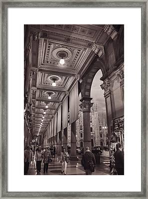 La Passeggiata Framed Print by Carol Japp