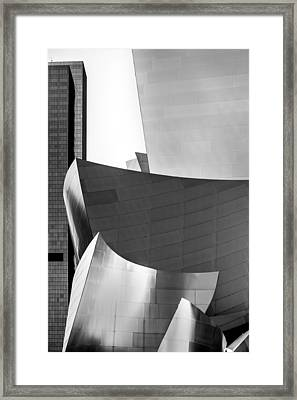 La Shapes Framed Print by Az Jackson