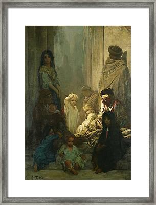 La Siesta, Memory Of Spain Framed Print by Gustave Dore