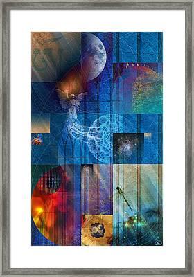 La Signatura Framed Print by Kenneth Armand Johnson