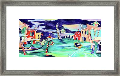 La Tempesta - Grand Canal Palace Framed Print by Arte Venezia