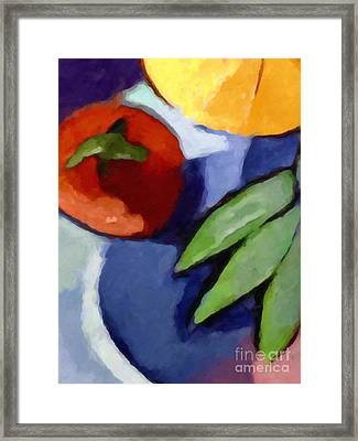 La Tomat Framed Print by Lutz Baar