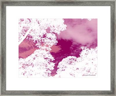La Vie En Rose Framed Print by Roxy Riou