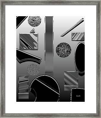 Lab Class Framed Print by Betsy Knapp
