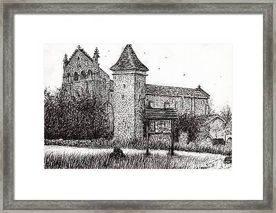 L'abbeye Blassimon Framed Print by Vincent Alexander Booth