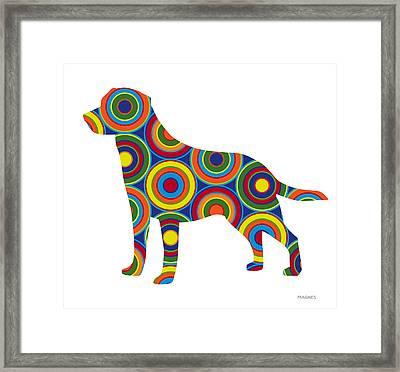 Labrador Retriever Framed Print by Ron Magnes
