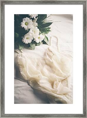 Laced Underwear Framed Print by Jelena Jovanovic