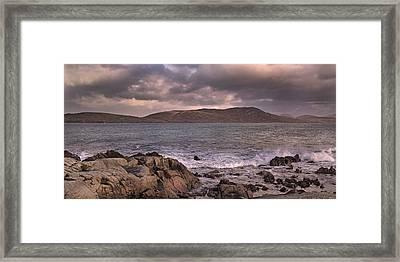 Lacey Cottage Rossadillisk Seaside Framed Print by Betsy C Knapp