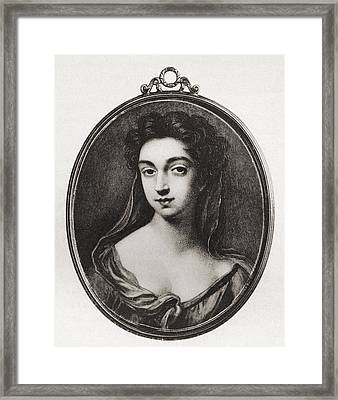 Lady Catherine Cavendish, Countess Framed Print by Vintage Design Pics
