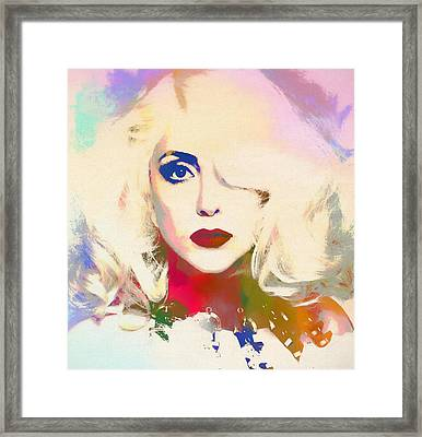 Lady Gaga Framed Print by Dan Sproul