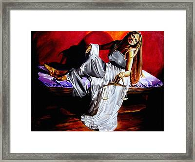 Lady Justice Framed Print by Laura Pierre-Louis