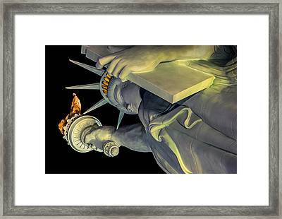 Lady Of The House II Framed Print by Bobby Villapando