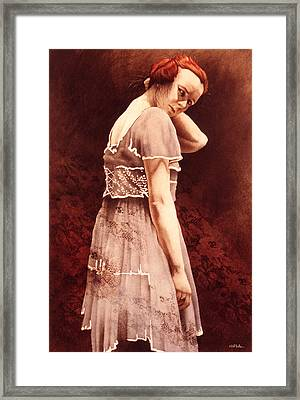 Lady Ophelia... Framed Print by Will Bullas