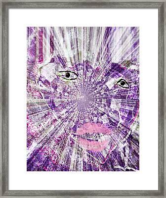 Lady Tsunami Framed Print by Fania Simon