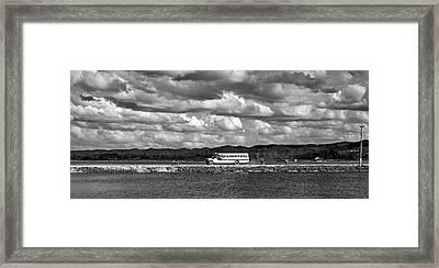 Lago Peten Itza - Guatemala Framed Print by Juergen Weiss