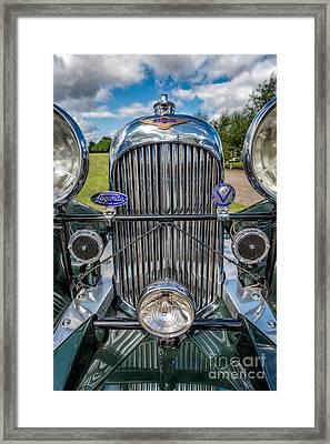 Lagonda Classic Framed Print by Adrian Evans