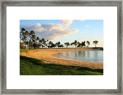 Lagoon 4 Framed Print by Eddie Freeman