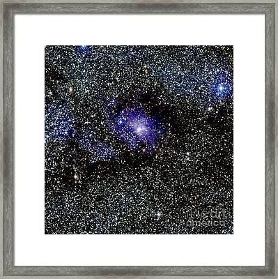 Lagoon Nebula Framed Print by 2MASS project / NASA