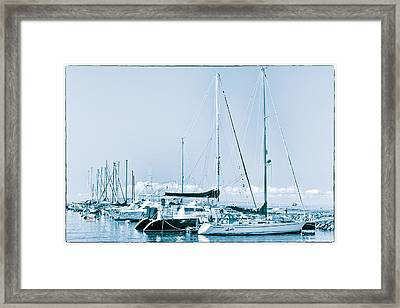 Lahaina Marina Framed Print by Jim Thompson