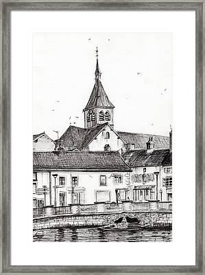 Laignes France Framed Print by Vincent Alexander Booth