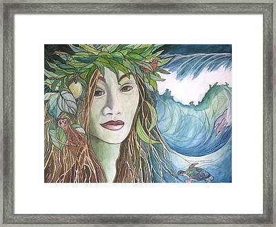 Laka Framed Print by Kimberly Kirk