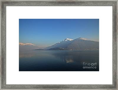 Lake Como Framed Print by Mats Silvan
