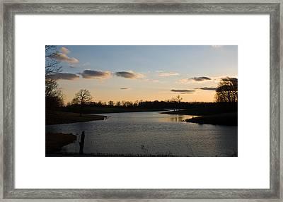 Lake Cumberland County Tennessee Framed Print by Douglas Barnett