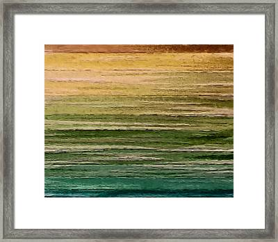 Lake Framed Print by Ely Arsha