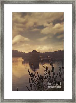 Lake House Framed Print by Jelena Jovanovic