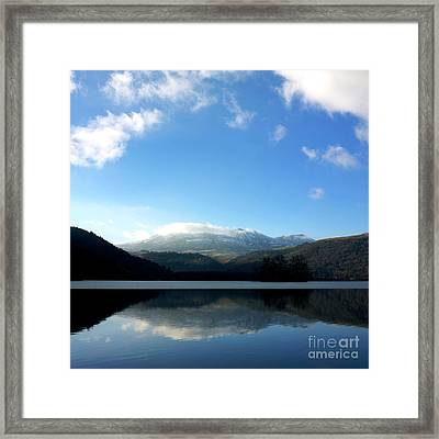 Lake In Auvergne Framed Print by Bernard Jaubert