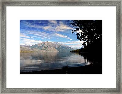 Lake Mcdonald 20 Framed Print by Marty Koch