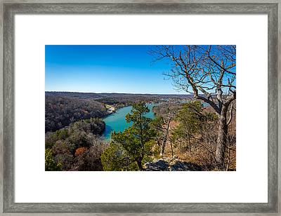 Lake Of The Ozarks #1 Framed Print by Jon Manjeot